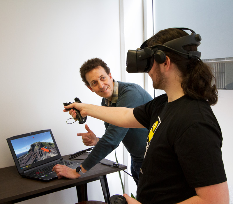 Framework VR Developing Virtual Learning Environments
